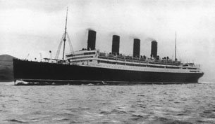 Aquitania before requisition